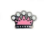 Crown - Enamel Charm
